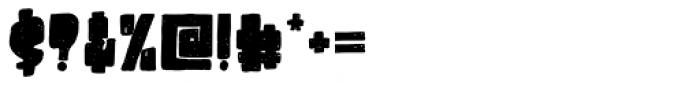 Destone Regular Font OTHER CHARS