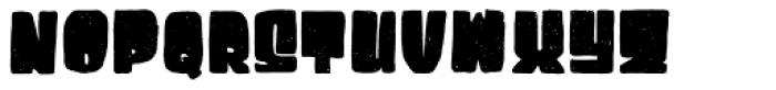 Destone Regular Font UPPERCASE