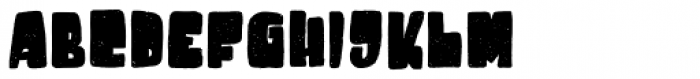 Destone Regular Font LOWERCASE