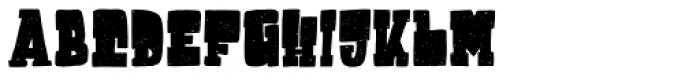 Destone Slab Serif Font UPPERCASE