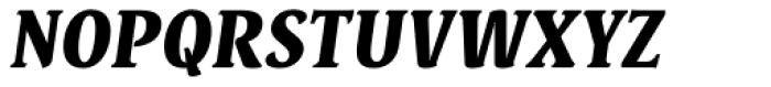 Destra Black Italic Font UPPERCASE