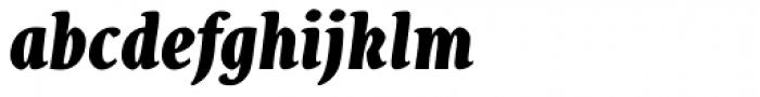 Destra Black Italic Font LOWERCASE