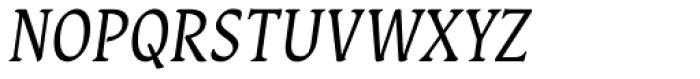 Destra Italic Font UPPERCASE