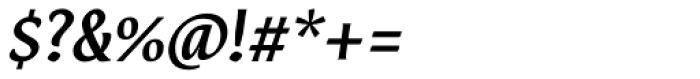 Destra Medium Italic Font OTHER CHARS