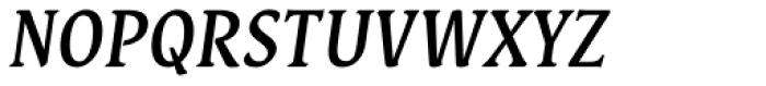 Destra Medium Italic Font UPPERCASE