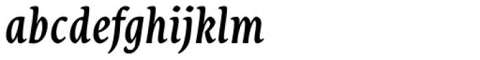 Destra Medium Italic Font LOWERCASE
