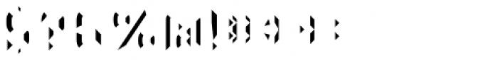 Detroit 06 Prism Left Font OTHER CHARS
