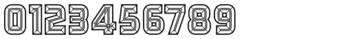 Detroit 12 Bevel Two Font OTHER CHARS