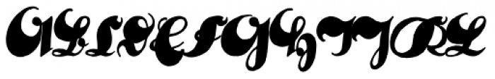 Deutsche Schrift Callwey Font UPPERCASE
