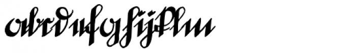 Deutsche Schrift Callwey Font LOWERCASE