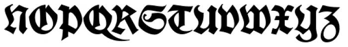 Deutsche Schrift Font UPPERCASE