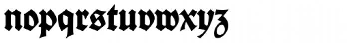 Deutsche Schrift Font LOWERCASE