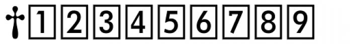 DeutscheBahnAG Three Font OTHER CHARS