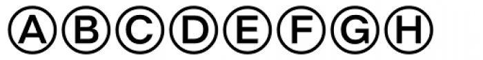 DeutscheBahnAG Three Font UPPERCASE