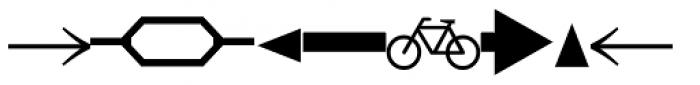 DeutscheBahnAG Three Font LOWERCASE