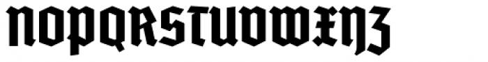 Deutschmeister Font UPPERCASE