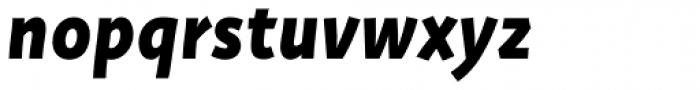 Deva Ideal Bold Italic Font LOWERCASE