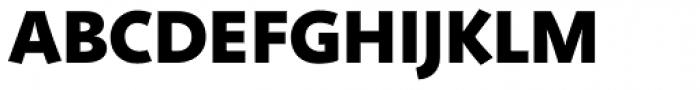 Deva Ideal Bold Font UPPERCASE
