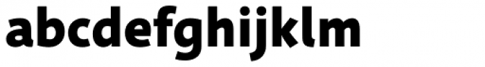 Deva Ideal Bold Font LOWERCASE