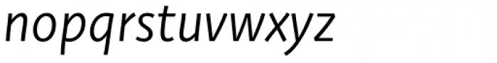 Deva Ideal Book Italic Font LOWERCASE
