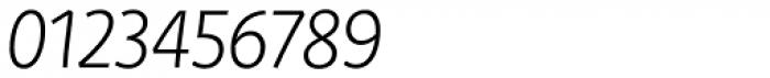 Deva Ideal Light Italic Font OTHER CHARS