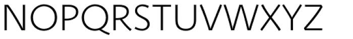 Deva Ideal Light Font UPPERCASE