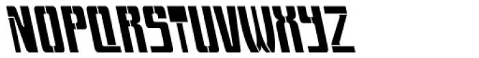Devama Backlash SRF Font UPPERCASE