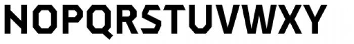 Dever Sans Bold Font UPPERCASE