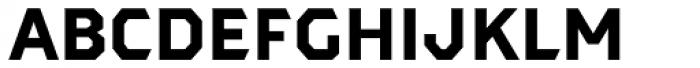 Dever Sans Bold Font LOWERCASE