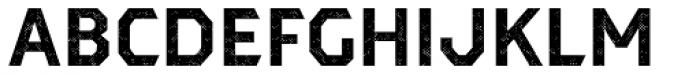 Dever Sans Halftone Bold Font UPPERCASE