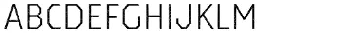 Dever Sans Halftone Light Font LOWERCASE
