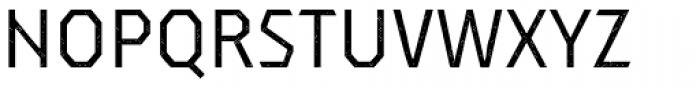 Dever Sans Halftone Regular Font UPPERCASE