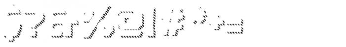 Dever Sans Line Bold Font OTHER CHARS