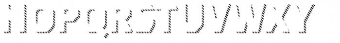 Dever Sans Line Bold Font UPPERCASE