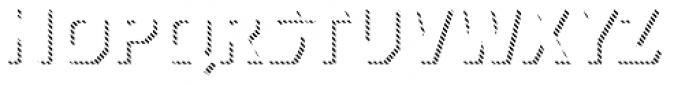 Dever Sans Line Bold Font LOWERCASE
