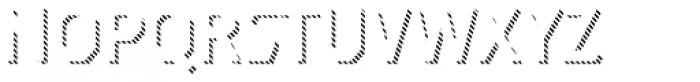 Dever Sans Line Regular Font LOWERCASE