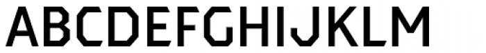 Dever Sans Medium Font UPPERCASE