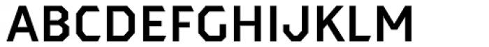 Dever Sans Medium Font LOWERCASE