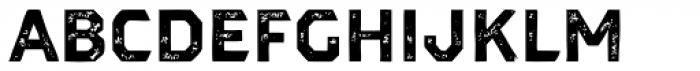 Dever Sans Print Bold Font LOWERCASE
