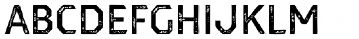 Dever Sans Print Medium Font UPPERCASE