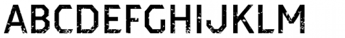Dever Sans Rough Medium Font UPPERCASE