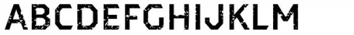 Dever Sans Rough Medium Font LOWERCASE