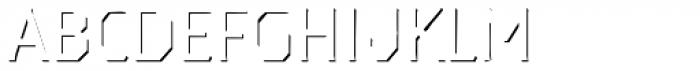 Dever Serif Accent Light Font LOWERCASE
