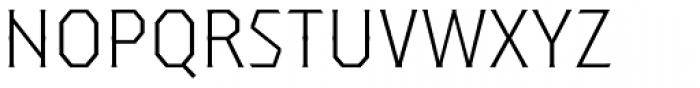Dever Serif Light Font UPPERCASE