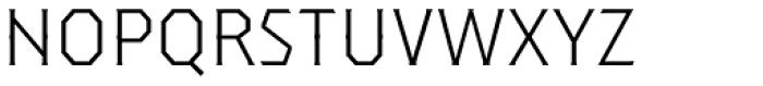 Dever Serif Light Font LOWERCASE