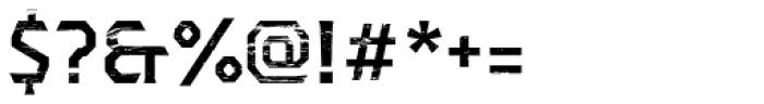 Dever Serif Wood Medium Font OTHER CHARS