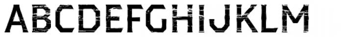 Dever Serif Wood Medium Font UPPERCASE