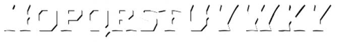 Dever Wedge Accent Medium Font LOWERCASE