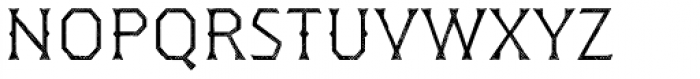 Dever Wedge Halftone Light Font LOWERCASE