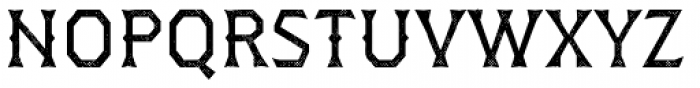 Dever Wedge Halftone Regular Font UPPERCASE